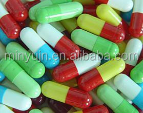 size 00 0 1 2 3 4 any color empty vegetable capsule