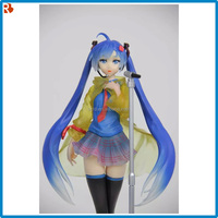 anime sex movie figure pvc/2016 Hatsune Mix in rain anime figure/unusual sexy collectible figurines