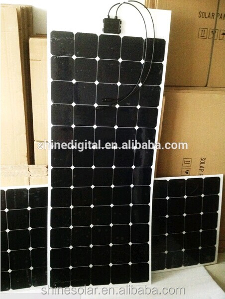 High Efficiency 180W Flexible Solar Panels,15W to 300W Flexible PV Modules with SUNPOWER SOLAR CELLS