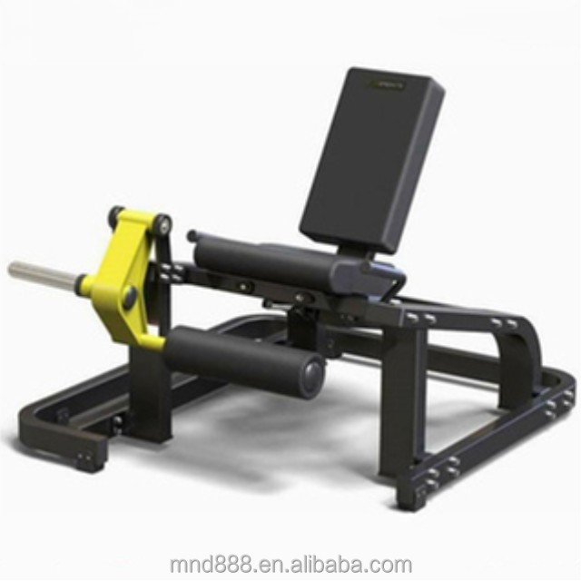 Home fitness sport leg extension plate loaded commercial gym