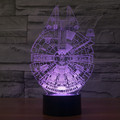 New disinged Millennium Falcon 3d Led Night Light