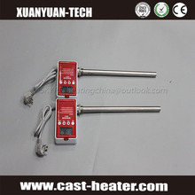 Industrial Electric heating element cartridge heater with digital temperature controller and sensor