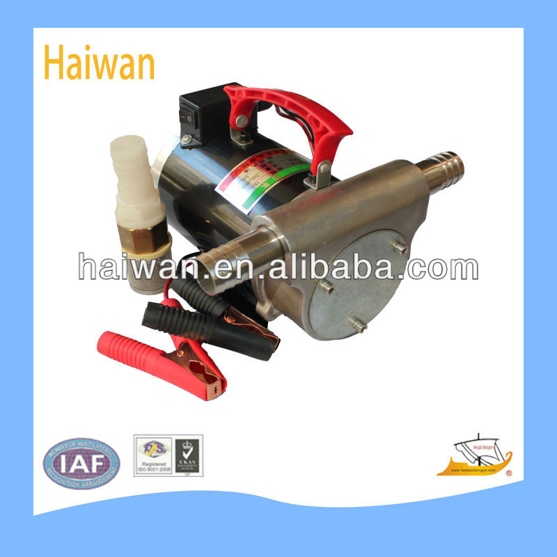 stainless steel fuel pump dc pump for chemical and alcohol