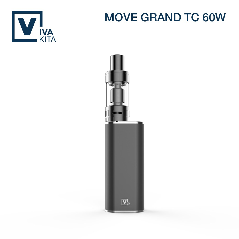 Big vapor VIVAKITA new TC 60w ceramic coil box mod refillable mechanical atomizer