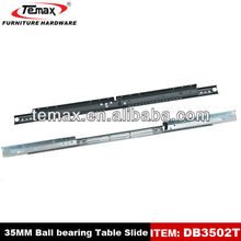 heavy duty ball bearing table slides drawer slide