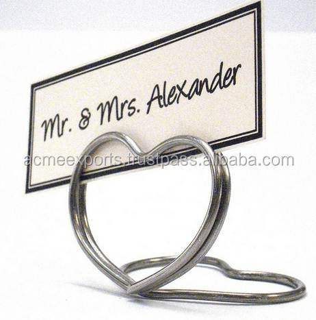 High Quality Wire Hand Made Table Top Card Holder Manufacturer Buy Metal  Wire Card Holder,