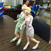 Young Girl Sex Anime Figure, 3D Polystone Girl Sculpture, Cartoon Figurine