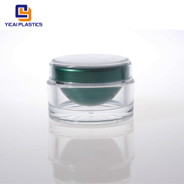 Wholesale custom size competitive price plastic cosmetic jar