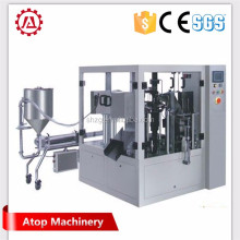 Shanghai Atop Machine high quality automatic cashew nut packing machine / liquid powder granule sealing machine