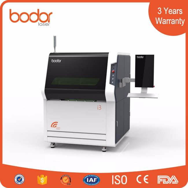 MINI CNC Sheet Fiber Laser Cutter for Spare Parts from Bodor with 3 years warranty