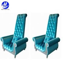 Commercial used loveseat throne chair for wedding event