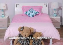 Color life children bed whith single or double young girl bed