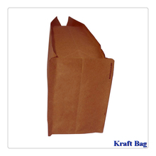 Food Kraft Paper Pouch/Brown coffee bean bag /Custom Kraft tea packaging bag with ziplock