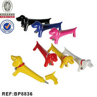 INTERWELL BP8836 Plastic New Dog Shape Animal Promo Pen
