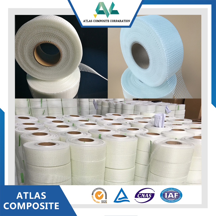 Factory Direct supply 3m self adhesive fiberglass mesh tape