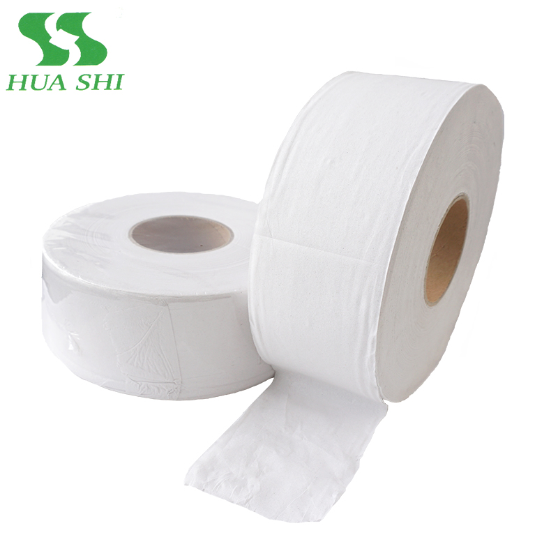 Standard roll size water soluble dust free toilet tissue paper in bales