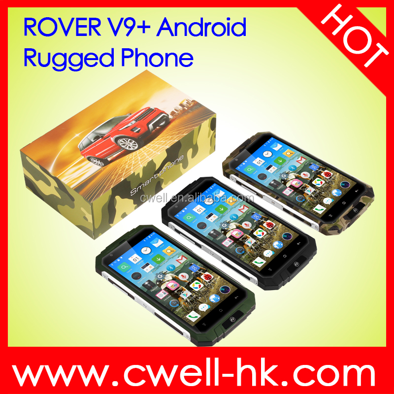 5.0 Inch QHD MTK6580 Quad Core Metal Frame 3000mAh Big Battery Rugged Style Android 3G Smartphone ROVER V9+