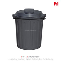 ZE-60LB plastic dustbin foodgrade container water bucket storage container 60L