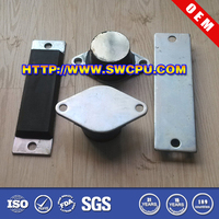 Car silicon bumper for shock absorber