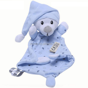 Dropshipping Animal Shaped Baby Comforting Towel Toy