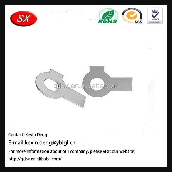 Factory price customized stainless steel double ear brake washer