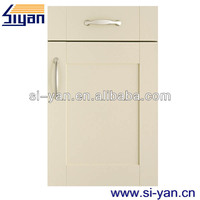 door white foil wrap kitchen cabinet