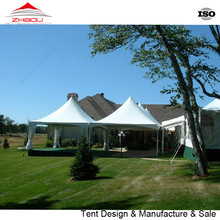 UV Protection Festivals Exhibitions Steel stand Tent 5x5M With PVC Wall