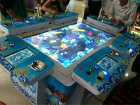 2014 Hot sell the newest ocean star 3 fishing game machine with screen touch