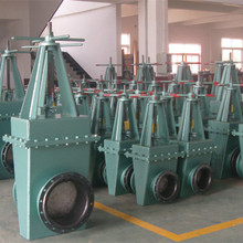 Handwheel operated Rubber Sealing Wedge Gate Valve for oil & gas transportation with high pressure
