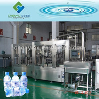 Hot sale high quality automatic 3 in1 mineral water filling machine in china