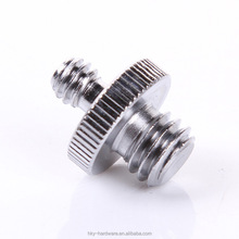 "High quality aluminum 1/4' and 1/8"" camera mounting screw"