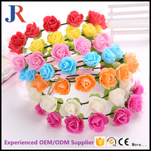 New style holidays artifical LED Flower Crown artificial wedding garland
