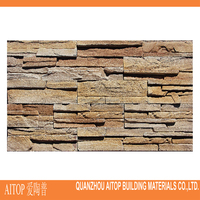 Outdoor decorative artificial stone look cement panel hot sale in Japan