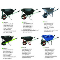 Wheelbarrow design made in china heavy duty steel wheelbarrow