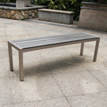 Factory Best Price Top Sale Outdoor Patio Dining With Bench Seating