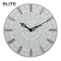 arabic style custom design home goods art painting big size wall clocks