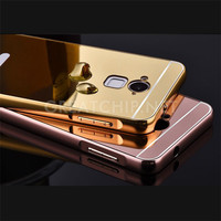 New coming mobile phone case aluminum bumper pc case for dazen note 2