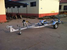 8t metal toy truck and trailer