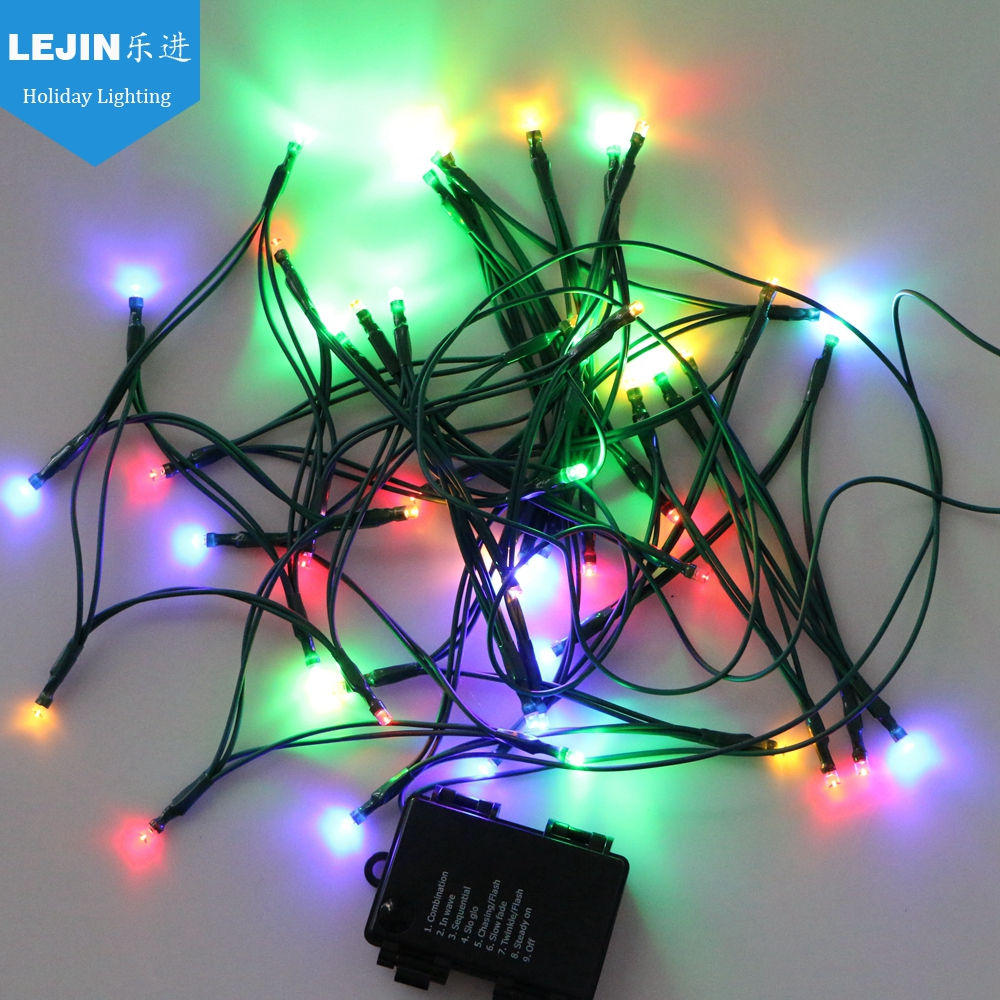 small battery operated led light chain
