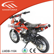 110cc red dirt bike /wholesale dirt bike with CE and EPA