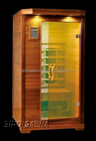 1 person wellness and personal portable infrared sauna cabins with pure ceramic tube heater