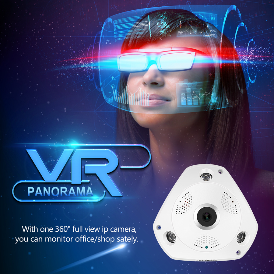 Yoosee Vr Ip Camera Wireless Wired 960p Smart Cam 360 Degree Wifi Hd 720p Cctv With Yy2p App Full View No Dead Angle Monitor