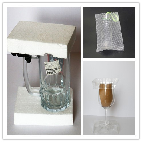Best Selling Fishtail Clear Wide Mouth Glass Cup