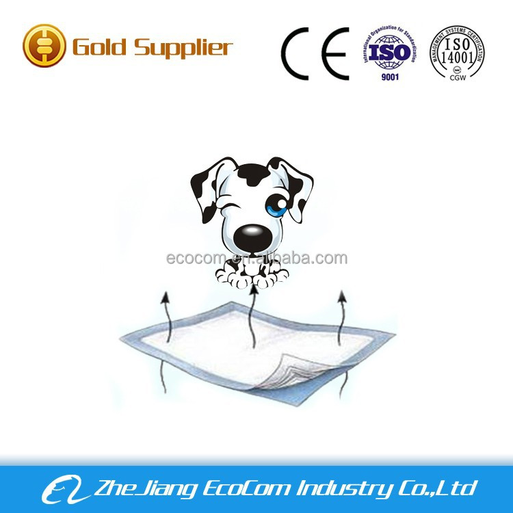 2016 hot selling puppy pee training pads