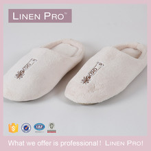 LinenPro Terry Towel Spa Slippers, Terry Cloth Soft Hotel Slipper With Closed Toe