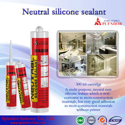 high quality neutral silicon sealant/ ceramic silicone sealant/ clear coat for silicone sealant adhesive