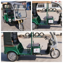 Electric three wheeler tricycle Bettery Auto Rickshaw