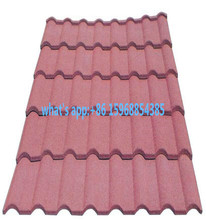 Waterproof stone coated steel roof tile for house