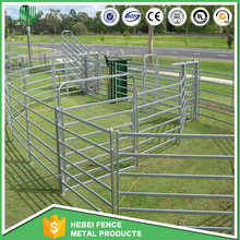 wholesale price galvanized goat horse cattle corral fence panels for sale