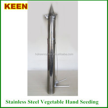 Stainlsteel vegetable manual/hand seed planters